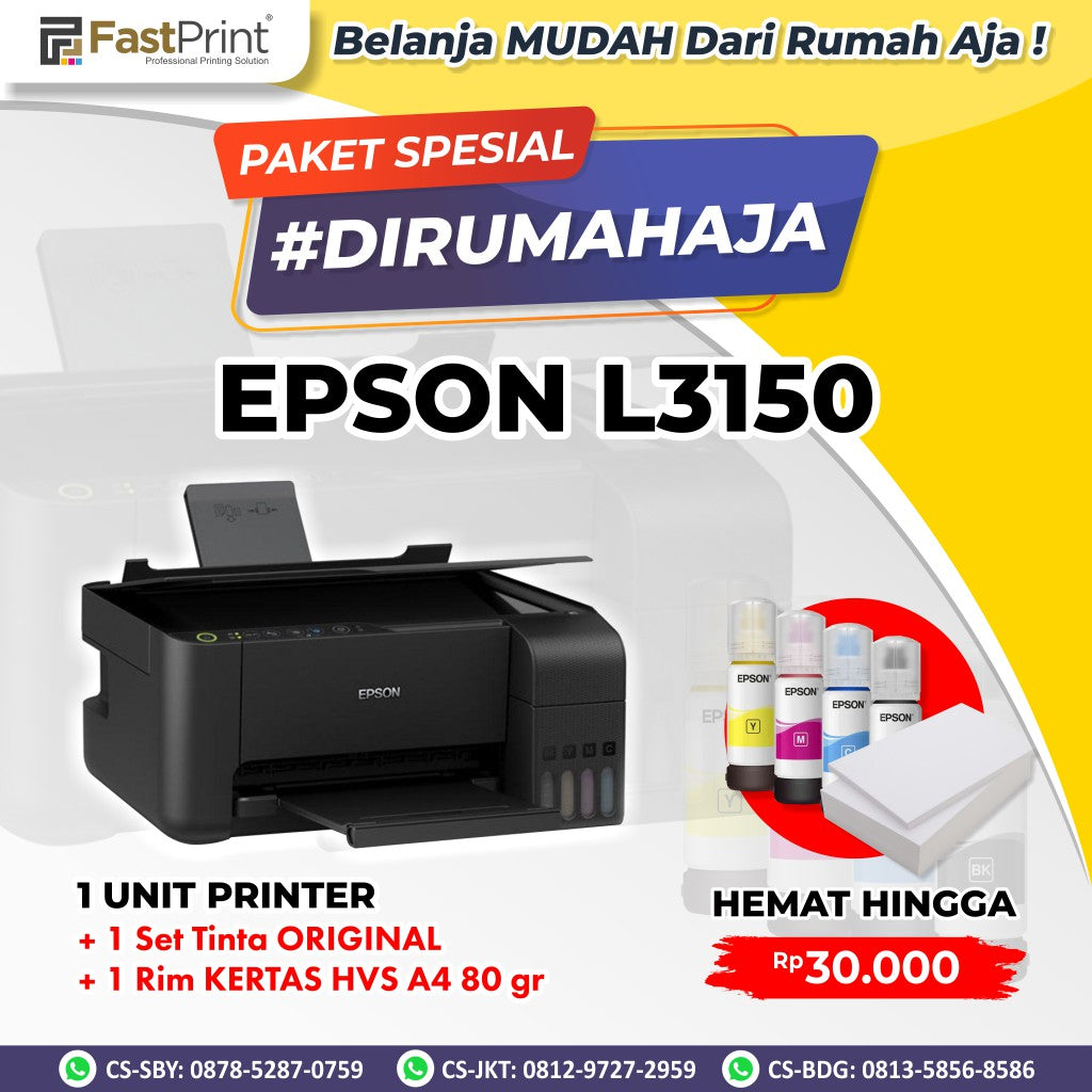 Printer Epson EcoTank L3150 WiFi All In One