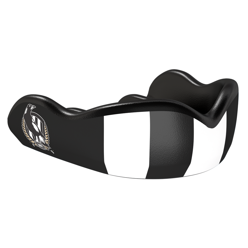 Collingwood AFL Boil & Bite Mouthguard