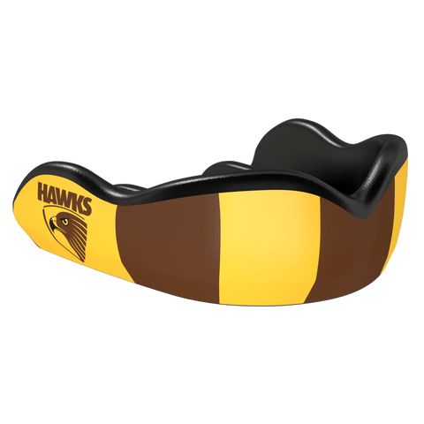 Hawks AFL Custom Mouthguard