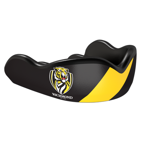 Richmond Tigers AFL Boil & Bite Mouthguard