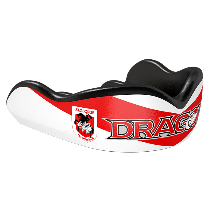 St. George Illawarra Dragons NRL Custom Mouthguard