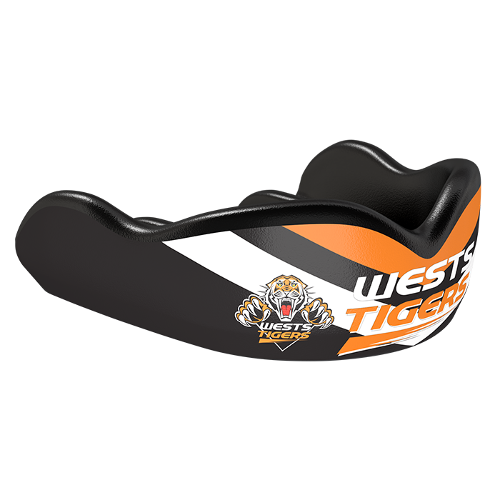Wests Tigers NRL Boil & Bite Mouthguard