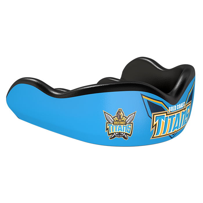 Gold Coast Titans NRL Custom Mouthguard