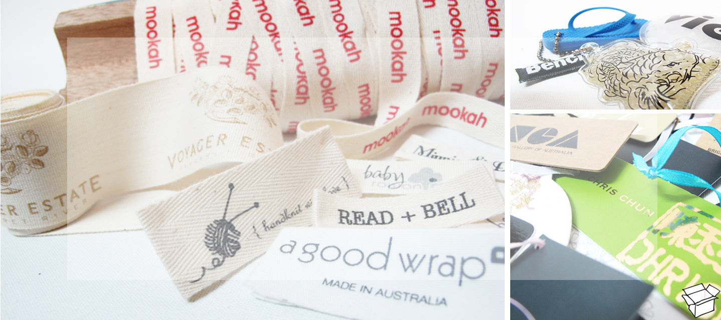 Tag Printer, Hang Tag Labels, personalised hang tags, Swing Tags, Cloth hang tags, custom woven tags for clothing, labels and tags