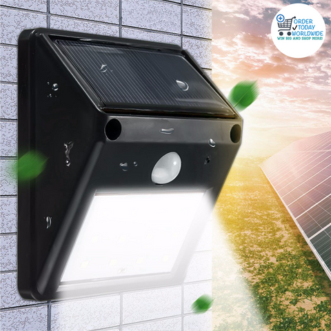12 LED Solar Light - Order Today!