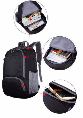 Lightweight Waterproof Folding Backpack - Order Today!
