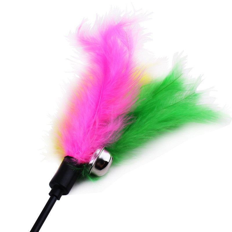 Feather Kitten Bell Cat Stick - Order Today!