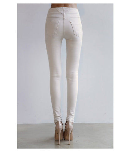 High Waist Slim Fit Jeans - Order Today!