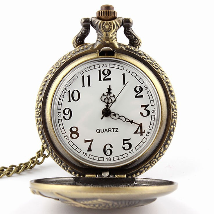 Fishing Angling Antique Pocket Watch - Order Today!