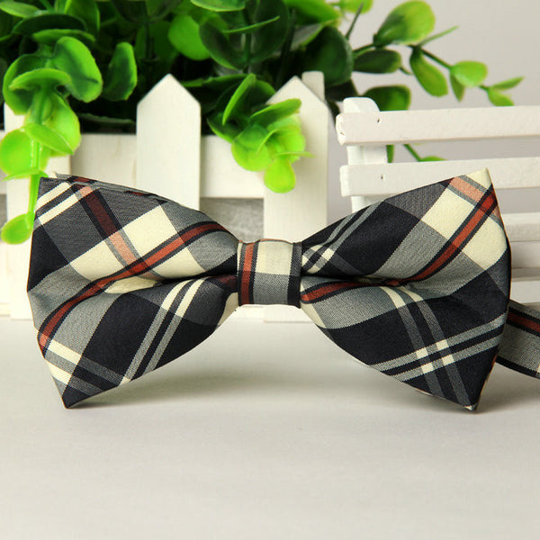 Formal Plaid Bow Tie