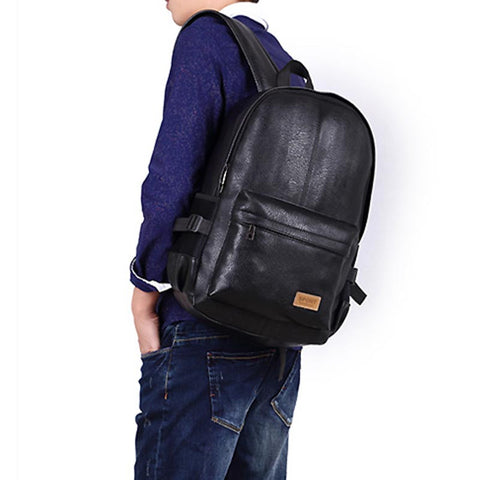 Men's Vintage Business Leather Backpack - Order Today!