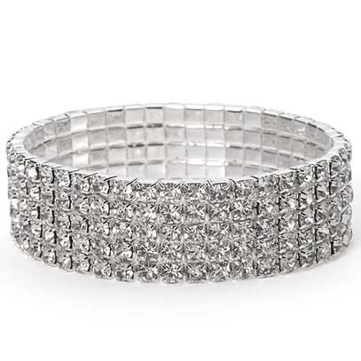 Rhinestone Bracelet Bangle - Order Today!