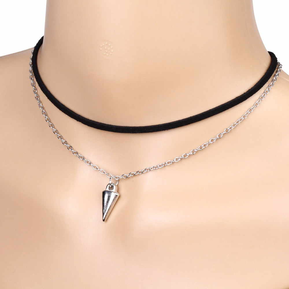 Handmade Cone Bullet Multi-Layered Choker Necklace - Order Today!
