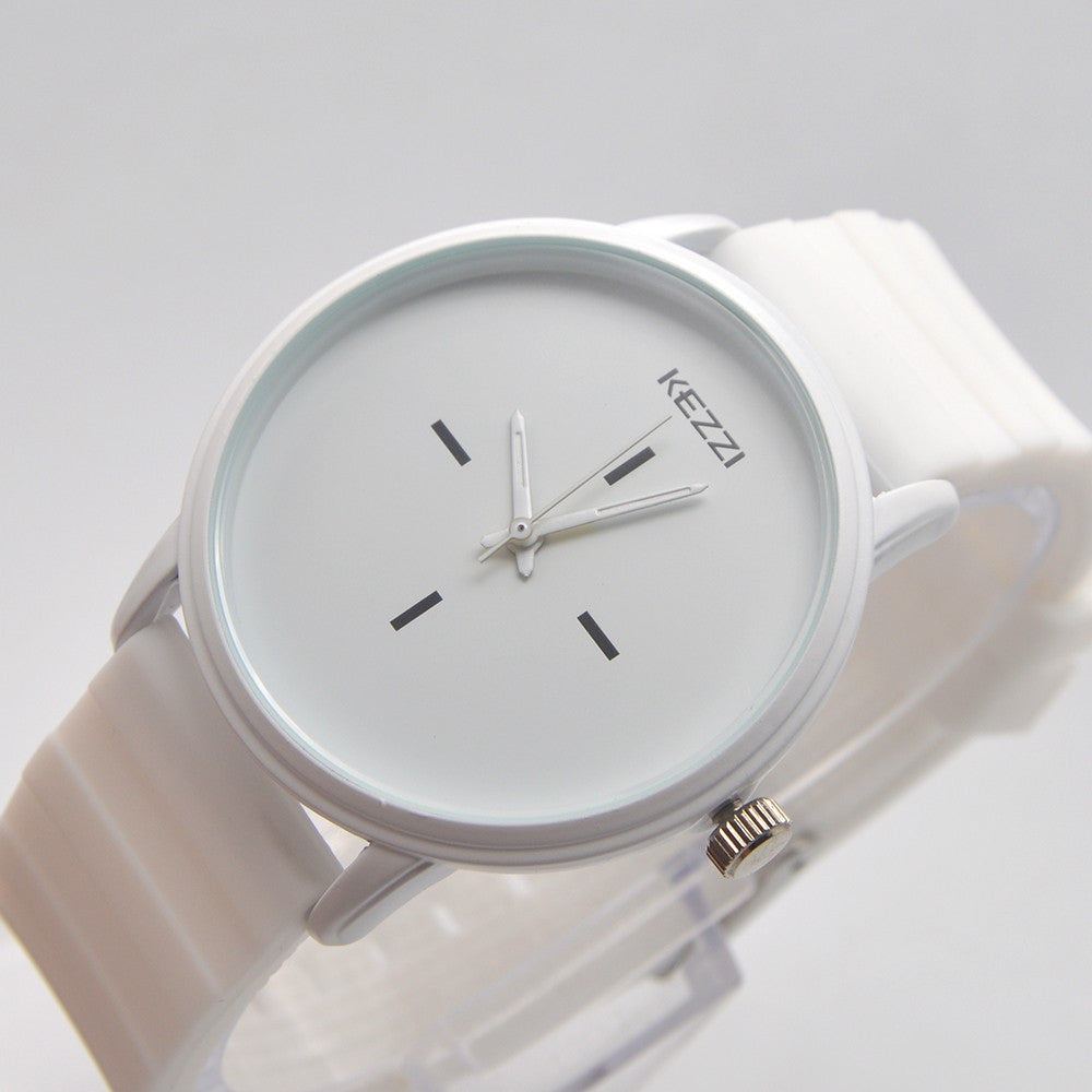 Silicone Couple's Quartz Watch - Order Today!