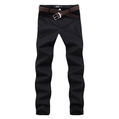 Men's Pure Cotton Slim Trousers - Order Today!