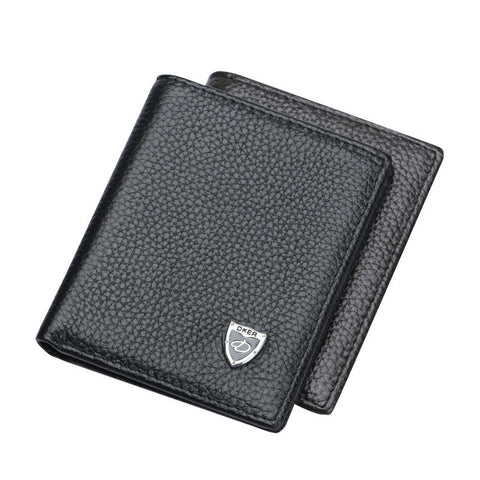 Casual Soft Genuine Leather Wallet for Men - Order Today!
