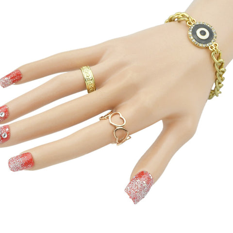 Rose Gold Heart Shaped Ring For Women - Order Today!