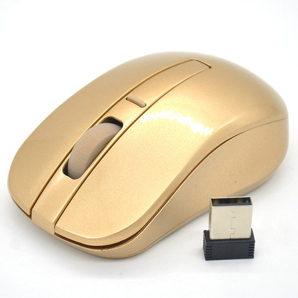 2.4GHZ Gold Wireless Mouse