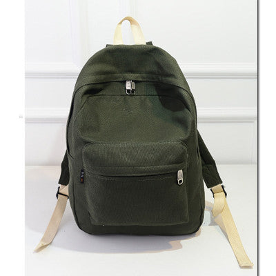 Preppy Canvas Backpack - Order Today!