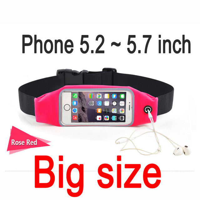 Gym Waist Bag Phone Case iPhone and Android - Order Today!