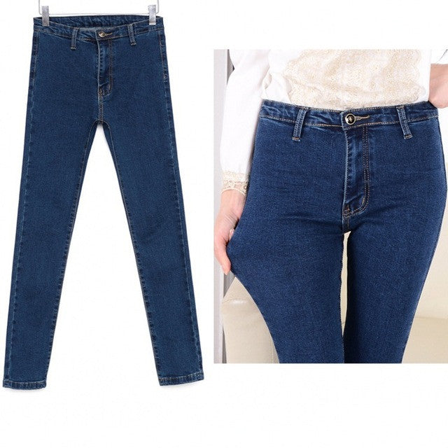 Stretchable Skinny High Waist Pants - Order Today!