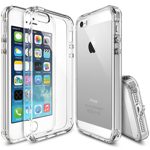 Silicone Anti-Knock Case For iPhone 5S / SE / 5 - Order Today!