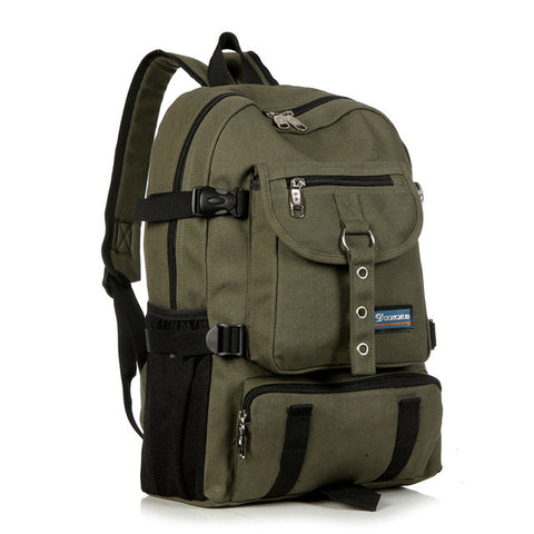 Leisure Men's Canvas Backpack - Order Today!