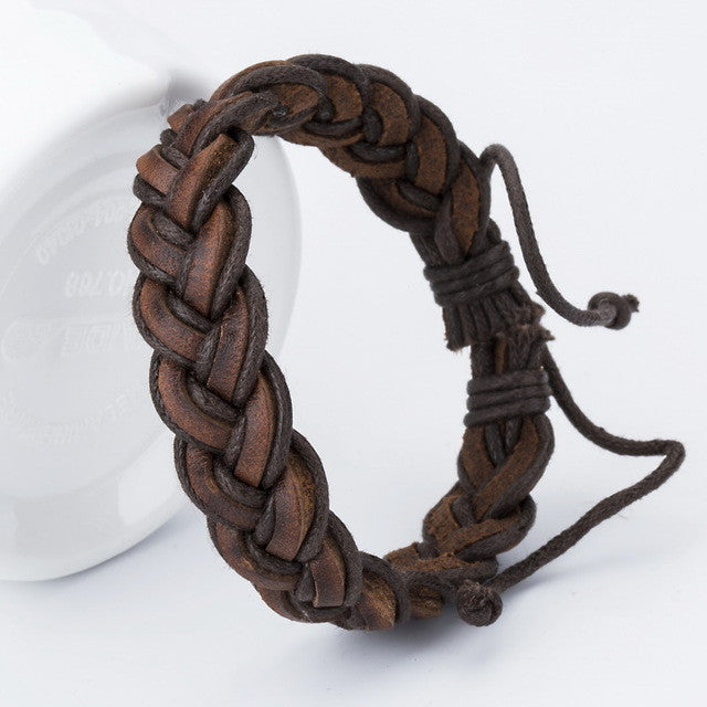 Charm Leather Bangle Bracelet - Order Today!