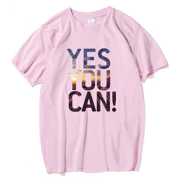 Yes You Can T-Shirt for Men - Order Today!