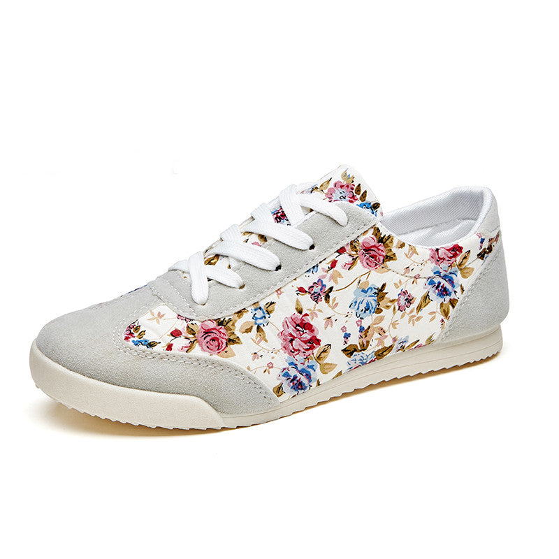 Floral Spring Lace-Up Shoes - Order Today!