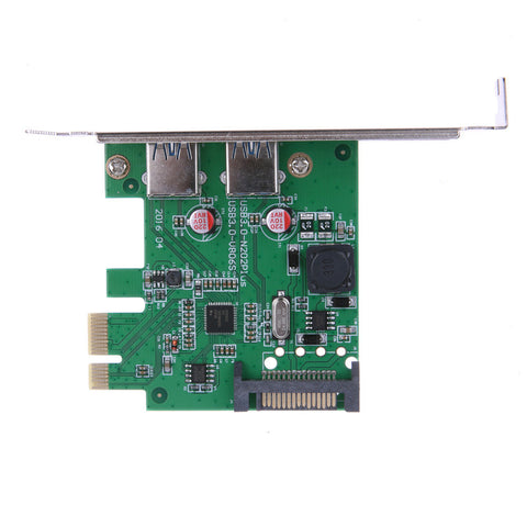 2 Ports USB 3.0 to PCI Express Expansion Card - Order Today!
