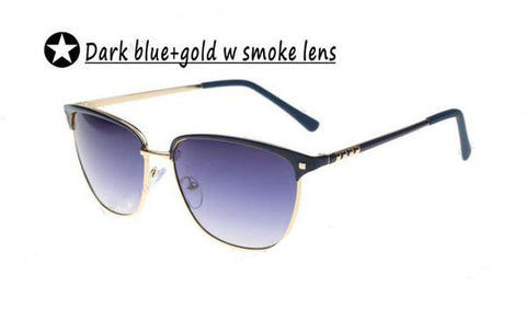New Gold Metal Frame Sunglasses for Women - Order Today!