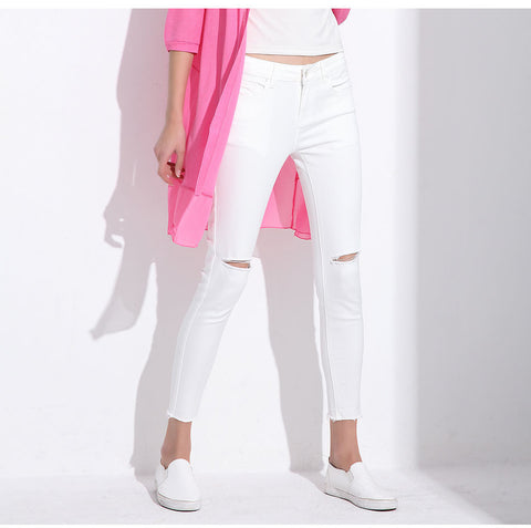 Capri Ripped Pants - Order Today!