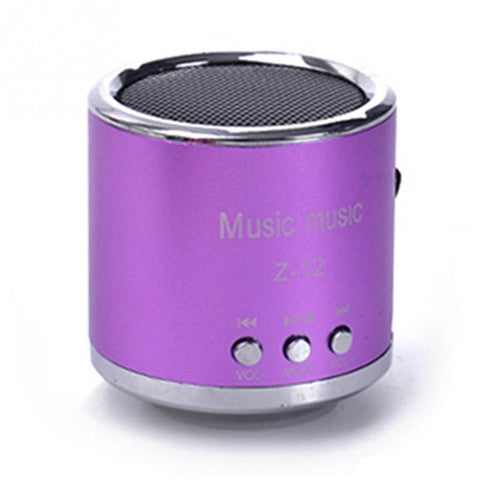 Mini Portable Cylinder Speaker - Order Today!