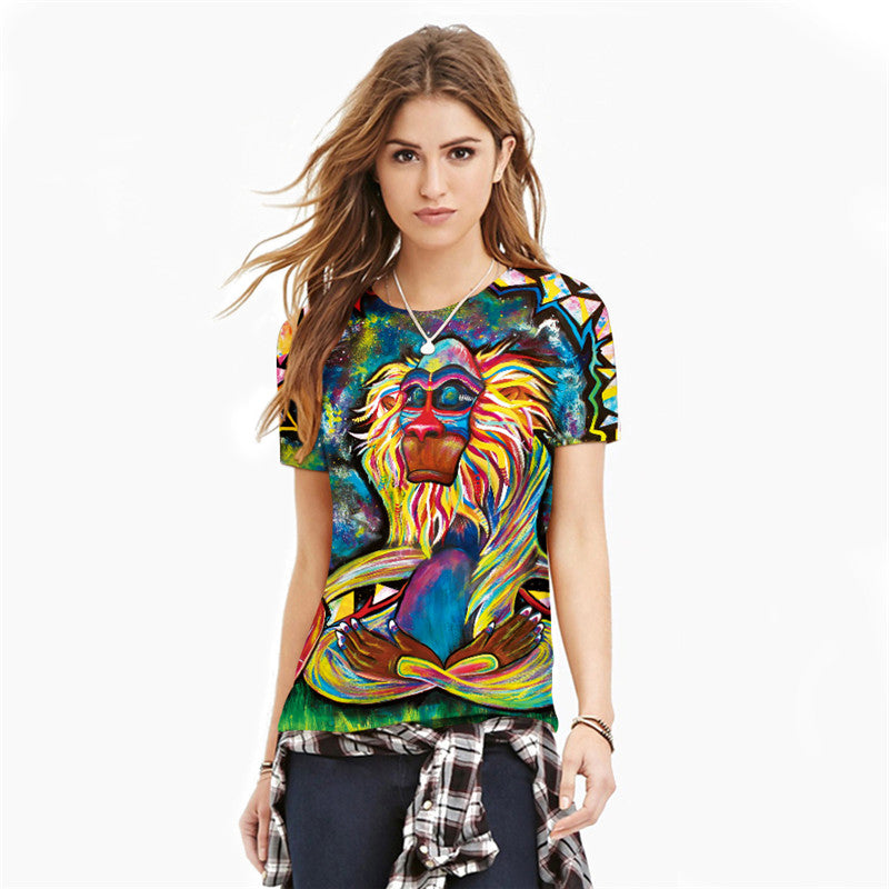 Animal Printed T-shirt - Order Today!