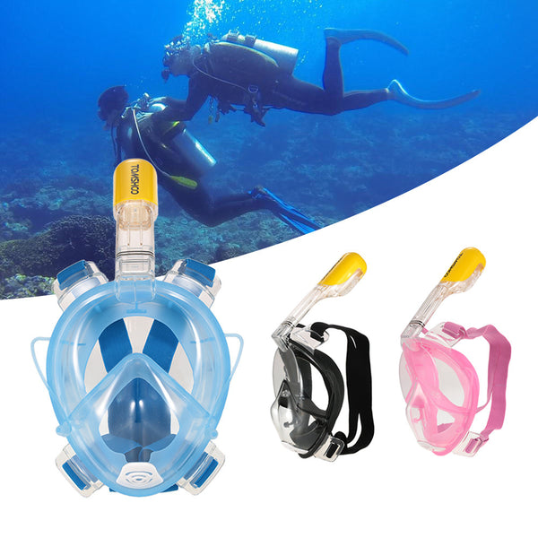 Full Face Snorkeling Mask Wide View