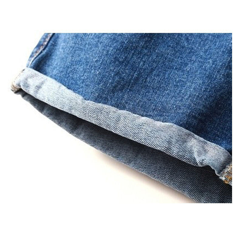 Hot High Waist Stretchy Denim Shorts - Order Today!