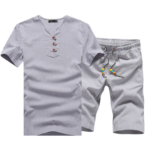 Casual Beach Set for Men - Order Today!