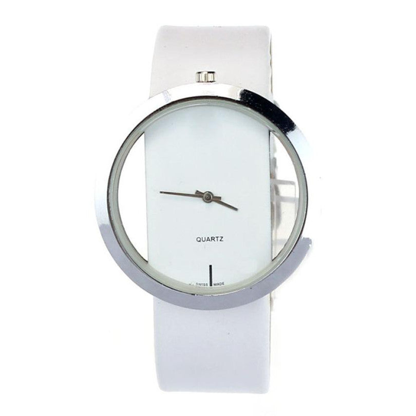 Analog Quartz Wrist Watch Leather Style - Order Today!