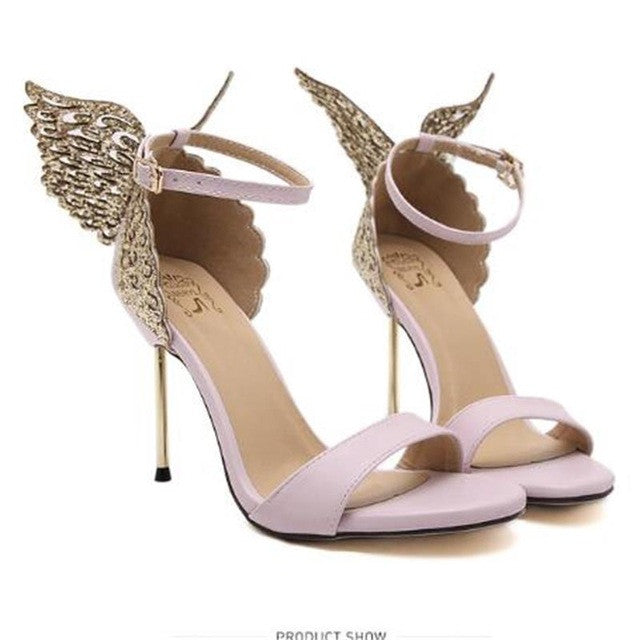 Butterfly High Heels Stiletto Sandals - Order Today!