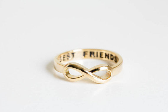 Gorgeous Infinity Ring for Best Friends - Order Today!