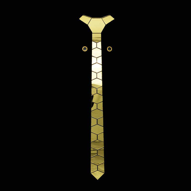Handmade World Wide Necktie - Gold - Order Today!