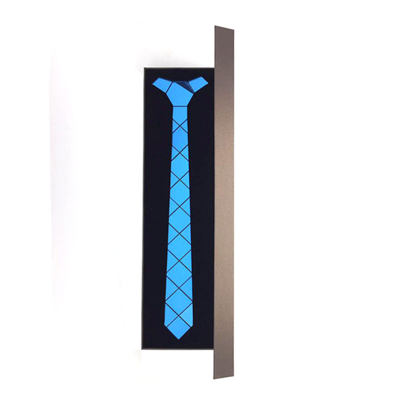 Handmade World Wide Necktie - Shinning Ocean Blue - Order Today!