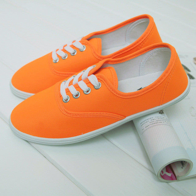 Spring Canvas Shoes - Order Today!