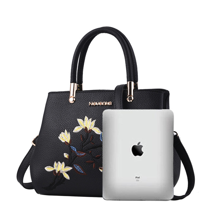 Floral Embroidery Cross Body Bag - Order Today!
