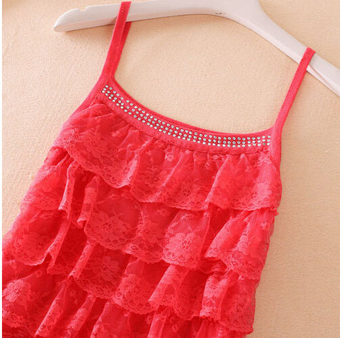 Sexy Multi-Layer Lace Tank Top for Women - Order Today!