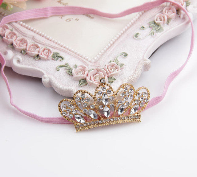 Crystal Crown Hairband for Children - Order Today!