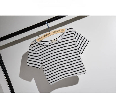 Striped Crop Top - Order Today!