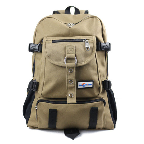 Casual Solid Color Backpack for Men - Order Today!