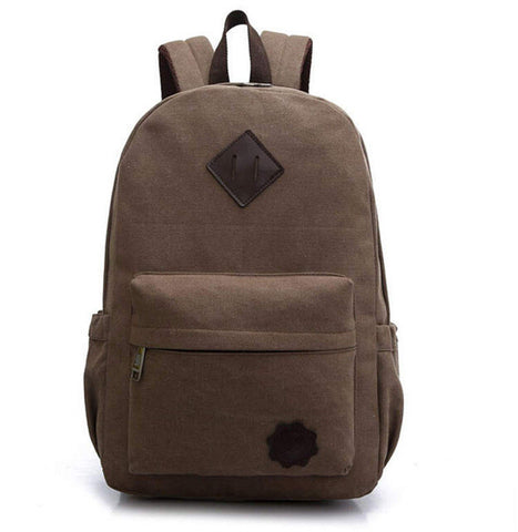 Men's Vintage Canvas Backpack - Order Today!